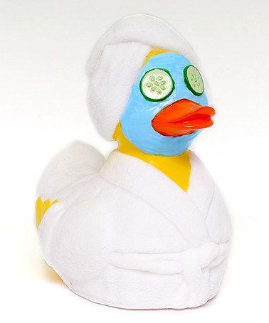Look at this #zulilyfind! Duckspa Rubba Duck #zulilyfinds