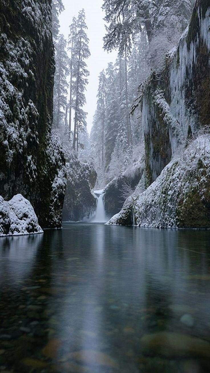 La grandeur de l'hiver