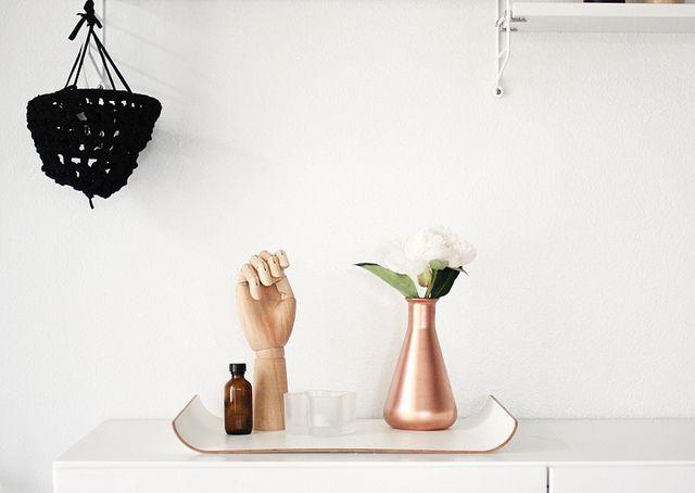 copper vase DIY via @Jennifer Hagler