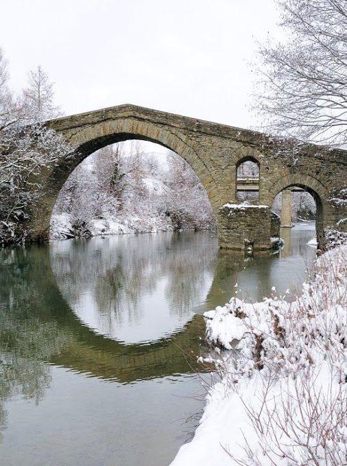 Bridge Ziaka, Grevena, Macedonia Hellas