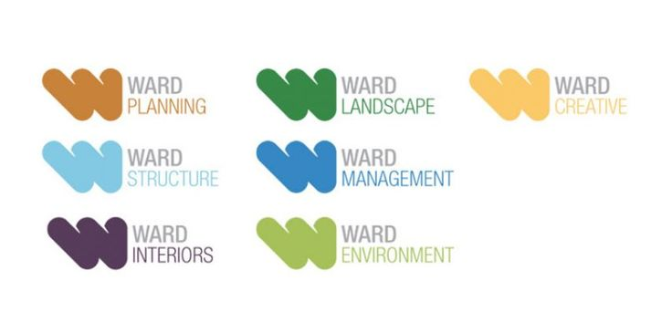 WARD CONSULTING RE-BRAND - New Ward logos - Ward Consulting is a award-winning multidisciplinary design practice with offices through the UK. © Copyright 2014 Ignite Design   Ward Consulting Ltd