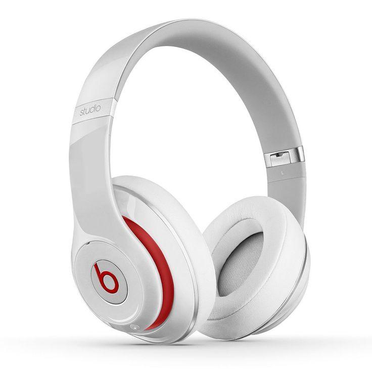 Beats Studio 2.0 Over-Ear Headphones, White