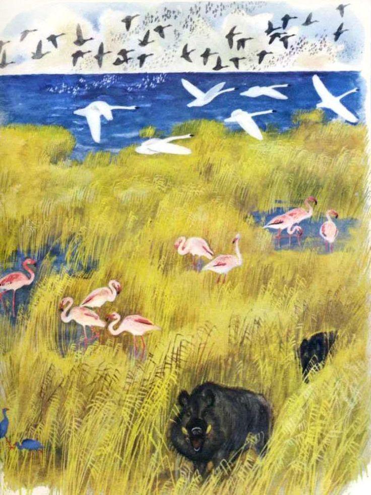 Николай Устинов «В разных краях» Автор - Г. Снегирев Малыш, 1981