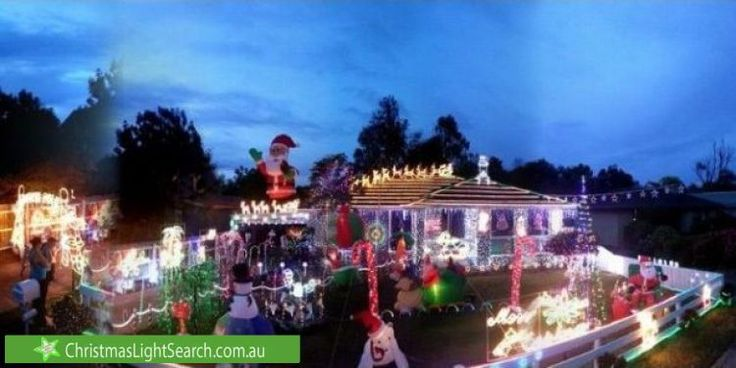 Christmas Lights in Somerville, VIC. 	http://xmaslights.co/somerville