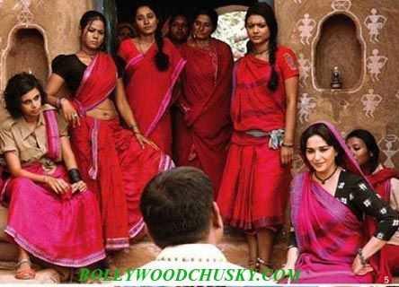 First time Dhak Dhak girl Madhuri Dixit is doing action scenes. to know about entire story. Click the link below to read the entire story.  http://www.bollywoodchusky.com/bollywood/gossip/first-look-fearless-madhuri-dixit-in-gulag-gang.html