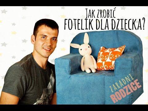 DIY: Fotelik piankowy dla dziecka   Zaradni Rodzice - Life by Mada