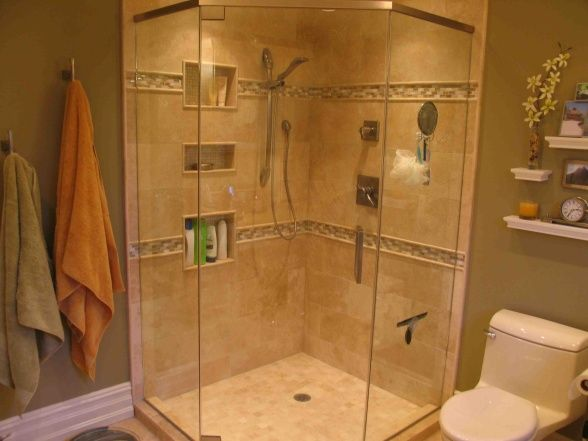 11 best images about bathroom ideas on pinterest small for Master bathroom designs small spaces