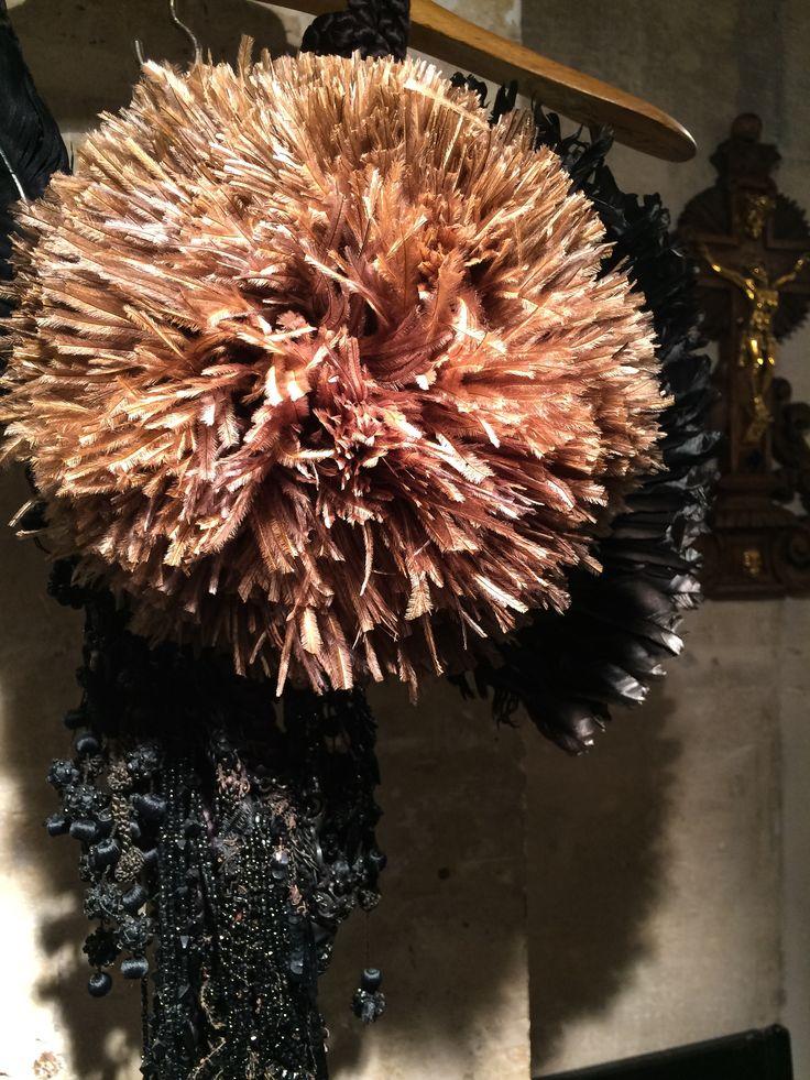 gavilane paris bijoux haute couture bijoux de createur piece unique collier plumes et. Black Bedroom Furniture Sets. Home Design Ideas