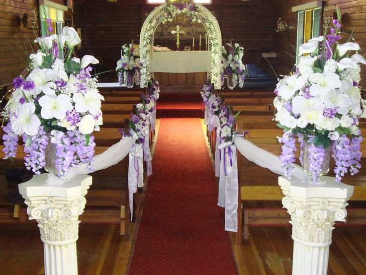 church wedding decorating ideas images previous image next image nuestra boda pinterest. Black Bedroom Furniture Sets. Home Design Ideas