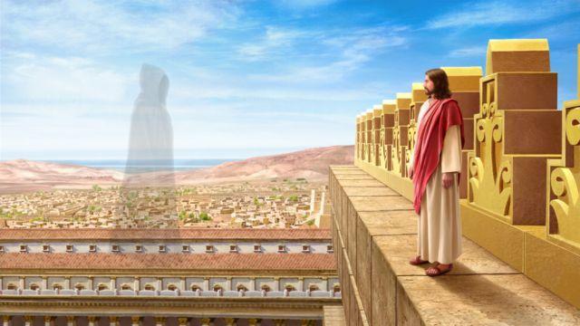 Cerita Alkitab Yesus Dicobai Iblis Yesus Alkitab Padang Gurun