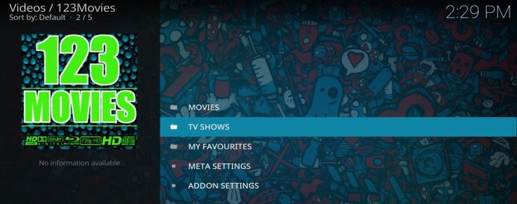 How to Install the 123Movies Add-on on Kodi