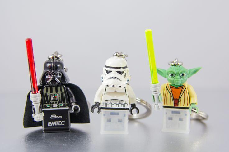 #Stormtrooper #Yoda #Darth Vader #Pendrive 8GB #USB #lego #flash #pendrive #minifigures #handmade #brick-craft
