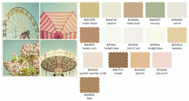 Color Palette Generator Sweet Southern Belles Interior