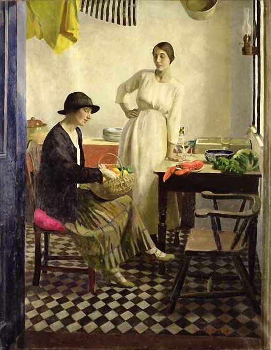 "Harold Harvey: ""My kitchen"":"