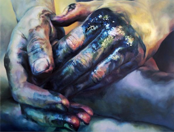 Painting © by Cara Thayer & Louie Van Patten