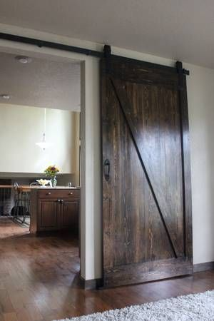 20 Best Basement Barn Door Images On Pinterest Sliding Doors Home