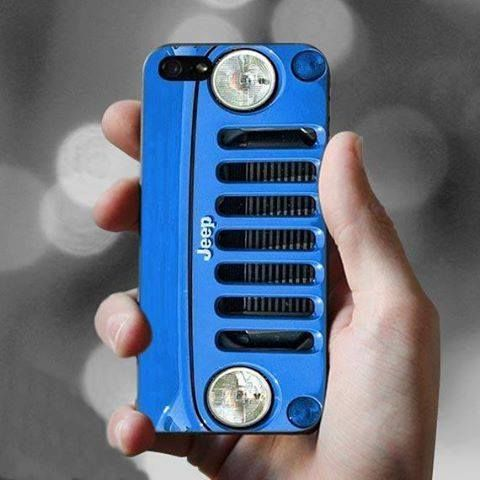 Jeep grill phone case