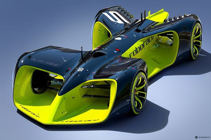 Concept design for Formula E's driverless Roborace support revealed - Formula E - Autosport