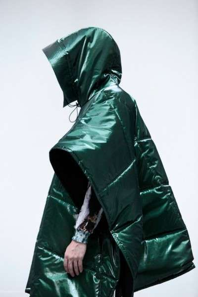 Space-Age Rain Gear - The Laitinen Fall/Winter 2012 Collection Puts Emphasis on Outerwear (GALLERY)