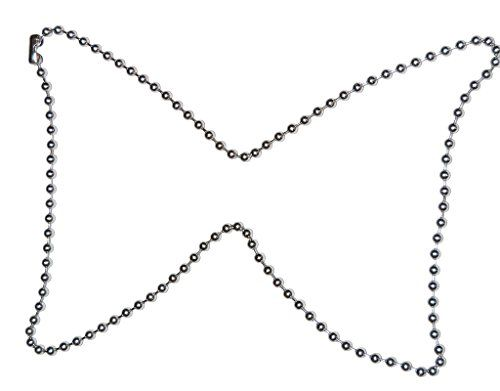 Necklace Chain Stainless Steel Ball 5 mm for Girls Boys Women Men by Tech Fashion-TF-525 http://techfashion.in/product/necklace-chain-stainless-steel-ball-5-mm-for-girls-boys-women-men-by-tech-fashion-tf-525/ This listing is by Tech Fashion – TECHNO SOLUTIONS. If you do not see above Sold and fulfilled by TECHNO SOLUTIONS then Check Other Sellers on Amazon and order Genuine item from Tech Fashion TECHNO SOLUTIONS. Necklace Chain Stainless Steel Ball 5 mm 80 cm long fo