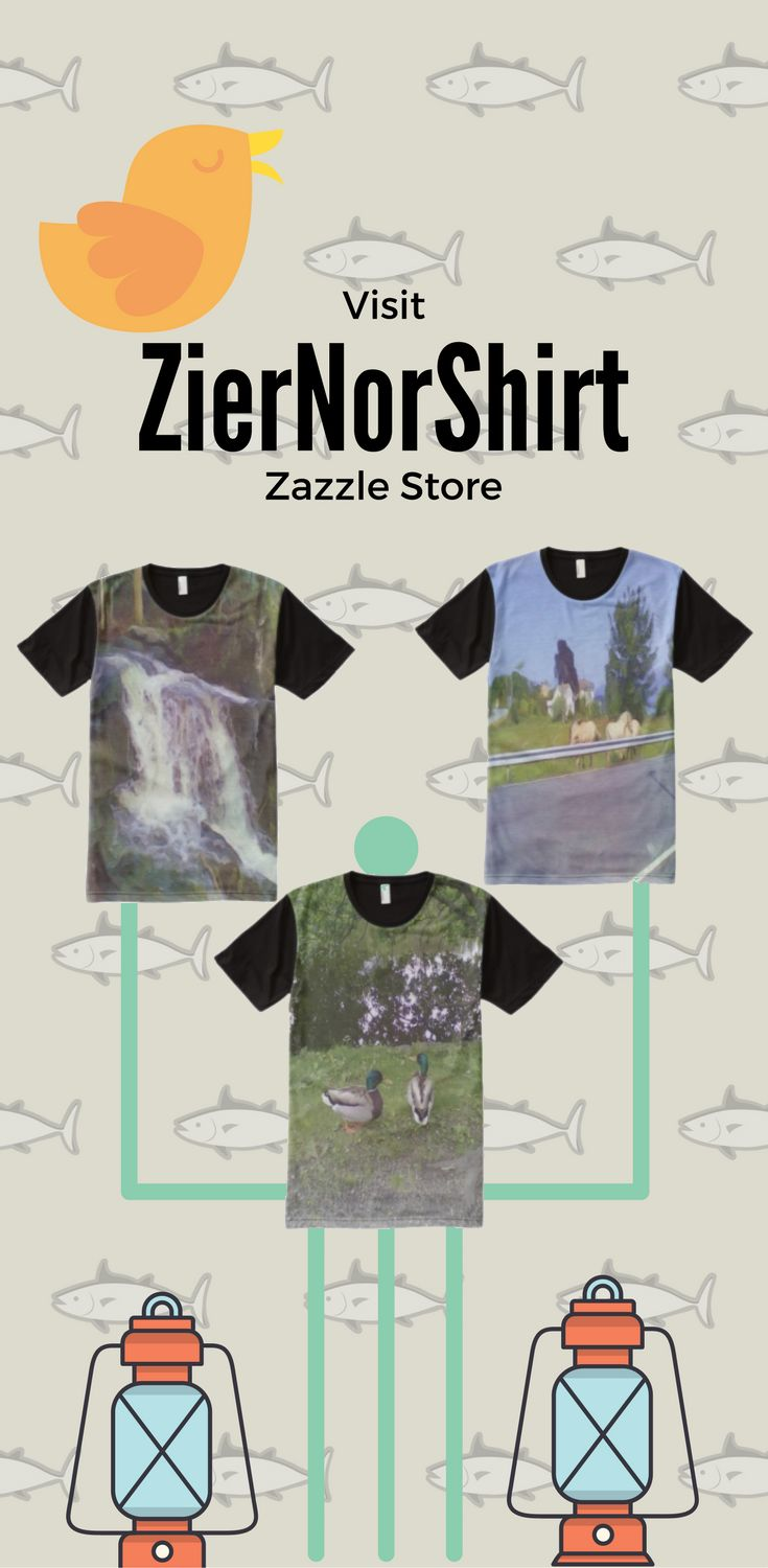 Visit ZierNorZazzle Store and find some unique photo T-Shirt