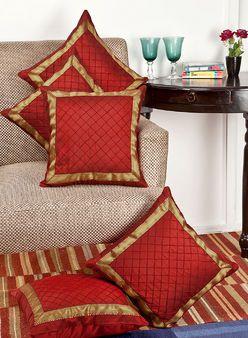 Maroon Cushions & Cushion Covers - Buy Maroon Cushions & Cushion Covers Online in India | Jabong.com