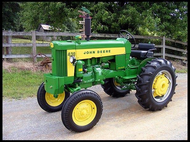 1960 John Deere 430 John Deere Yellow Stripe Pinterest Tractor And Vintage Tractors