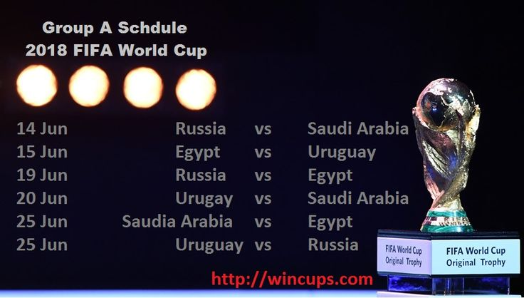Football Lovers gets Group A 2018 FIFA World cup Fixtures, Venus, Schedule, Matches, Result, news and the opening match where russia will meet agains Saudi Arabia on 14th June 2018.