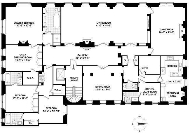 1436 best images about architecture on pinterest 2nd for Apartment floor plans new york