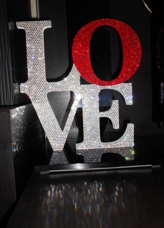 -crystallized-love-decoration<3 I want this :)  Perfect for our bedroom colors .