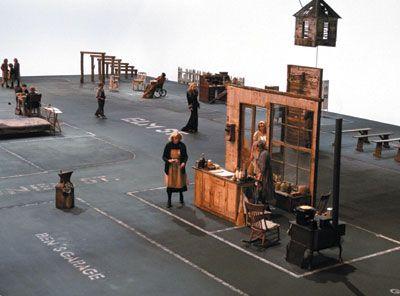 """Dogville,"" dir. Lars von Trier (2003). Flat-out surreal."