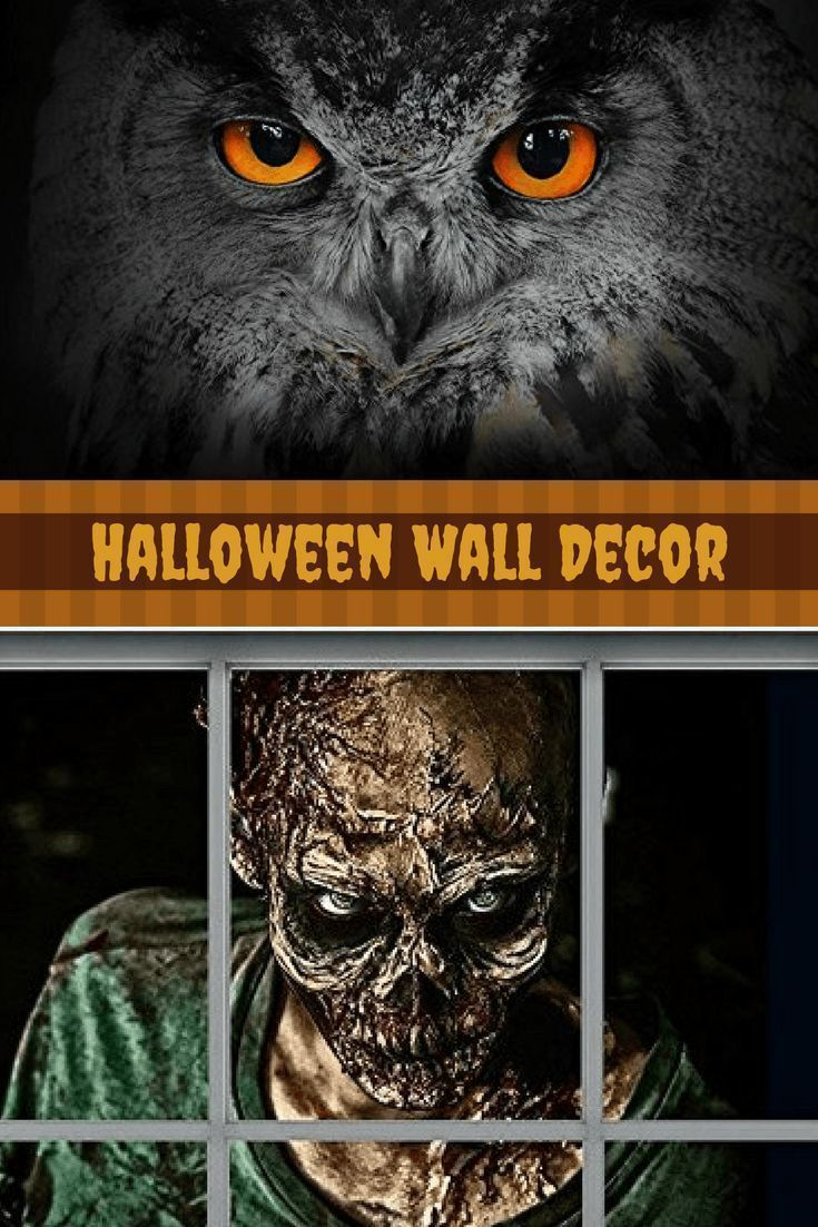 Halloween wall décor is especially twisted, creepy and spooky for Halloween 2017. In fact you can marvel at ghostly Halloween Wall decorations ranging from creepy skulls, Silly pumpkins, sleek black cats, frightening monsters and other creepy frights. Great Halloween Holiday wall décor makes Halloween wicked cool.   Halloween Wall Decor - unique halloween home decor - halloween home wall art decor