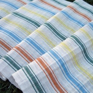 Hill House dish towels. Weavolution.com