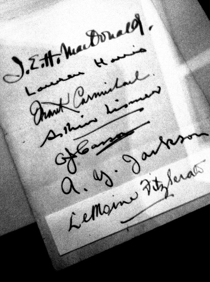 The Group of Seven: Signatures