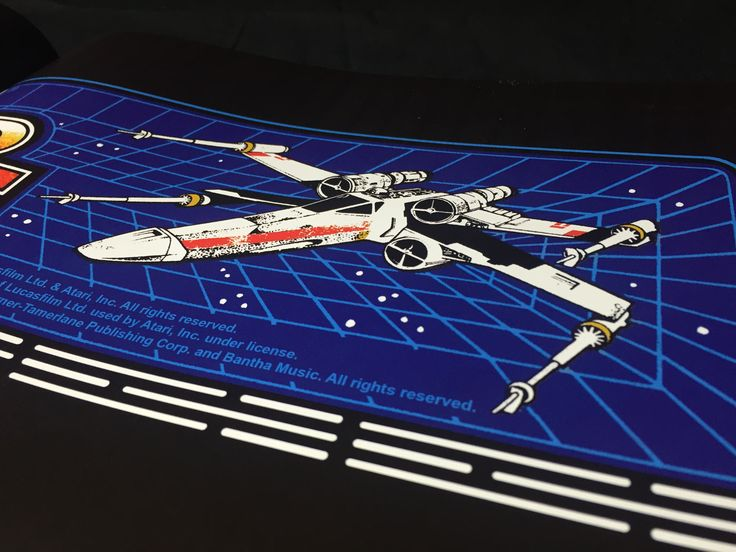 Star Wars - Book available here: http://www.funstockretro.co.uk/artcade-classic-arcade-game-art-book