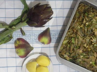 ... : TORTINO CARCIOFI E PATATE nichel free | artichoke | Potato | Recipe