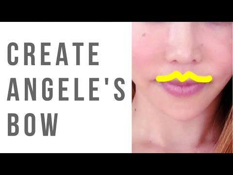 How to create more cupid's bow and cupid's bow dimple