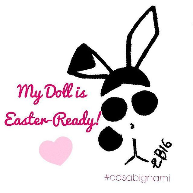 #happyeaster #mydoll #easter