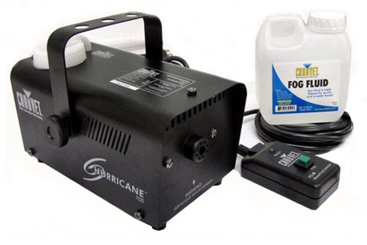 This Chauvet fog machine is perfect for any party or event. It provides the quality, performance and innovation that Chauvet is known for. This Chauvet fog machine's generous-capacity tank and quick h
