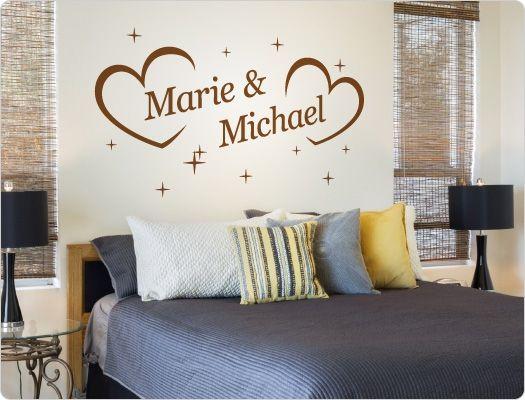 41 besten Wandsticker Liebe, Beziehung, Partnerschaft Bilder auf - wandtattoos schlafzimmer sprüche