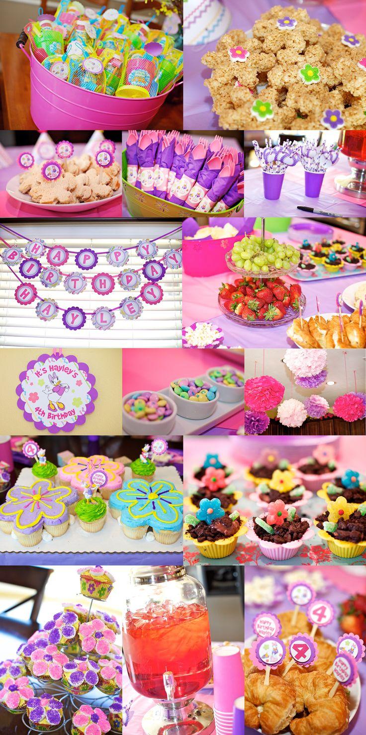 E wants a Daisy Duck Party » Daisy cupcake cake. jackandjanephotography.com