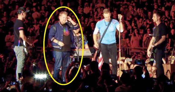 Durante los últimos conciertos que ha ofrecido el grupo 'Coldplay', ellos le han dado varias sorpresas a todos sus fans, invitando a un gran numero de celebridades y amigos al escenario para cantar o tocar algunos covers a su lado. Como por ejemplo el actor Michael J. Fox, mejor conocido por su personaje de Marty McFly, quien junto con la banda de Coldplay revivieron uno de los momentos más recordados de la película 'Volver al Futuro' sobre el escenario.