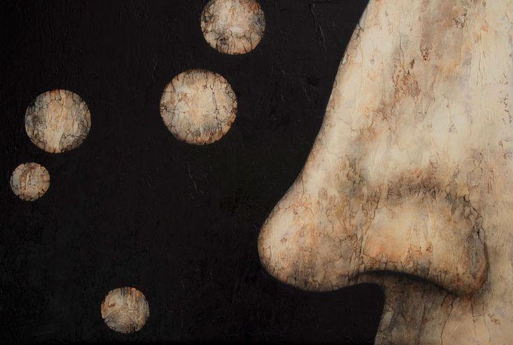 Allergia 45×60 oliosu tela 2015 Gisella Battistini(Fiorentino– Repubblica di San Marino) nata nella Repubblica di San Marino, dove vive e lavora. Autodidatta, coltiva la passione per l'arte sin dall'infanzia, e, da allora, sperimenta tutte le tecniche grafiche e pittoriche, con un occhio di riguardo all'acquerello e, soprattutto, alla pittura ad olio. Il connubio tra queste …