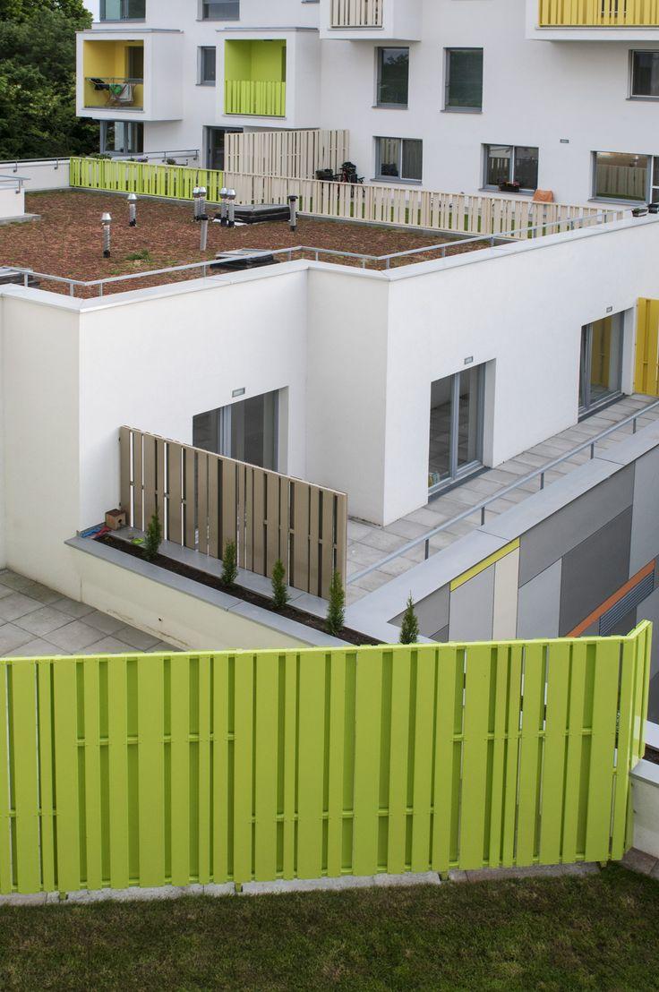 Bytový dom Nový háj_Architekti Šebo Lichý_Bratislava, Slovensko Fotograf: Olja Triaska Stefanovic