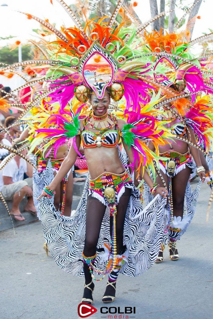 Carnival in Guadeloupe islands