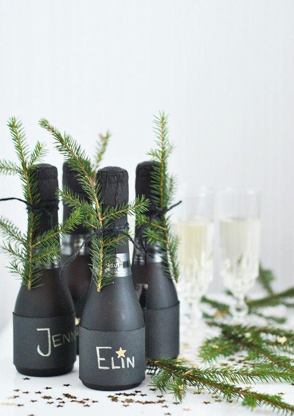 Hemtrender - Inredningstips, inspiration & trender Nyår - nyårsdukning - new year - champagne