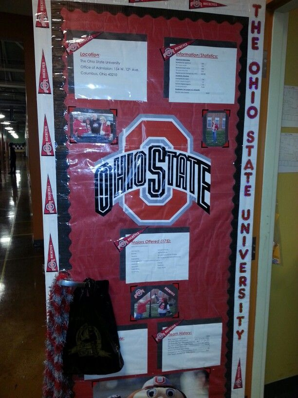 Classroom Decoration Ideas For College : College door theme pinterest