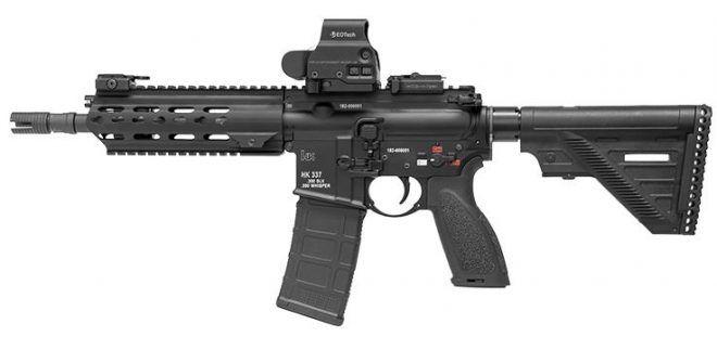 HK Blackouts - HK237, HK337 and HK437 in .300 Blackout/Whisper - The Firearm BlogThe Firearm Blog