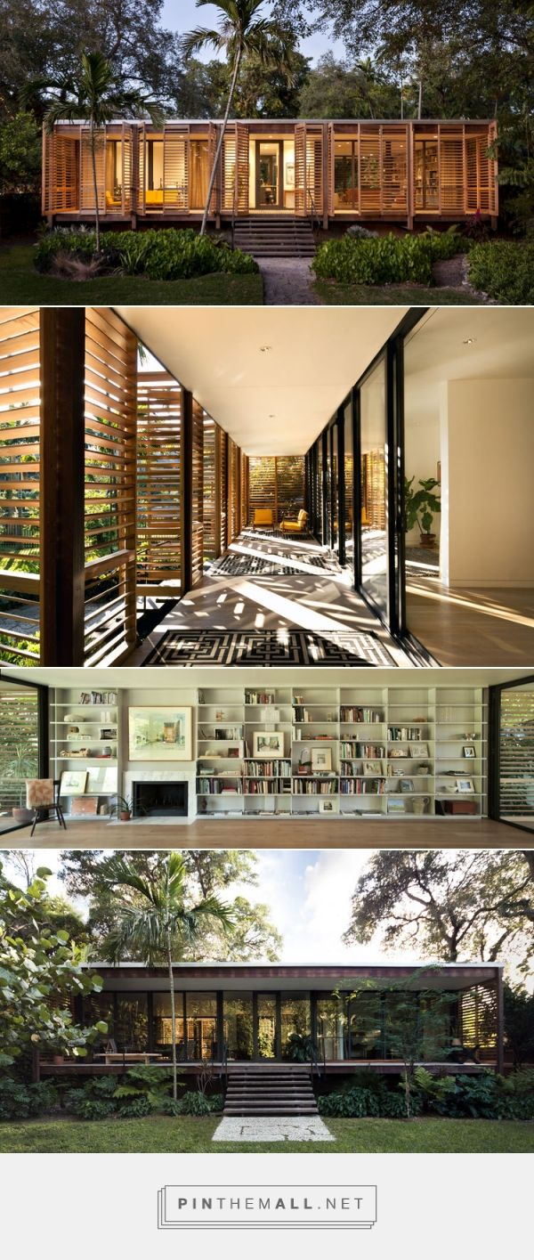 A Miami Oasis Pays Homage to Florida's Rich Architectural Heritage | Dwell - created via http://pinthemall.net