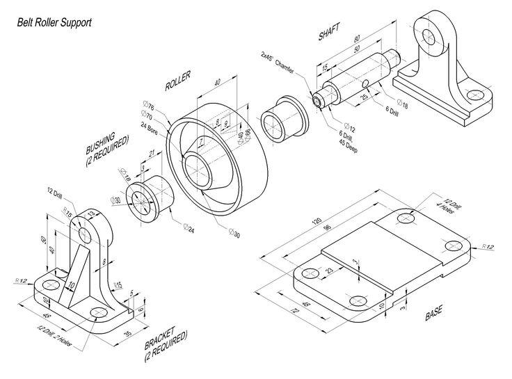 autocad 3d practice drawings pdf
